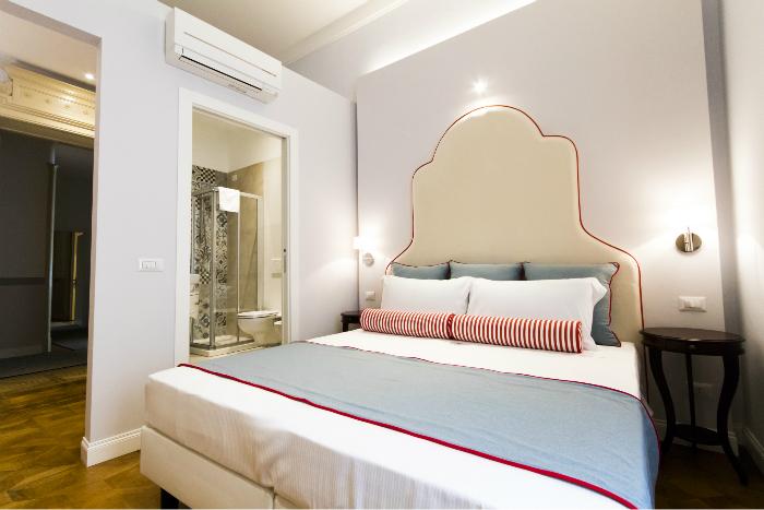 Camera Matrimoniale Doppia con letti singoli Trieste - Residenza ...